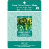 Листовая маска с морским виноградом Mijin Cosmetics Green Caviar Essence Mask