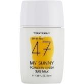 Солнцезащитный крем SPF47 Tony Moly My Sunny Powdery Finish Sun Milk SPF47