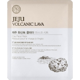 Тканевая маска для лица с вулканической лавой The Face Shop  Jeju Volcanic Lava Clay Face Mask