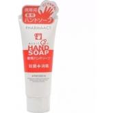 Антибактериальное жидкое мыло с гиалуроновой кислотой и травами Kumano Cosmetics Pharmaact Medicated Hand Soap