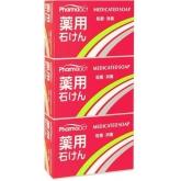 Мыло с триклозаном антибактериальное Kumano Cosmetics Pharmaact Medicated Soap