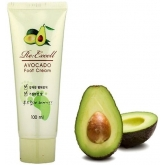 Крем для ног с экстрактом авокадо 3W Clinic Avocado Foot Cream