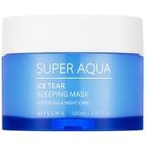 Тонизирующая ночная маска Missha Super Aqua Ice Tear Sleeping Mask
