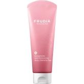 Антивозрастная питательная пенка-суфле с экстрактом граната Frudia Pomegranate Nutri-Moisturizing Sticky Cleansing Foam