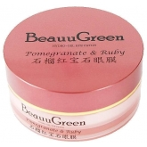Гидрогелевые патчи с экстрактом граната BeauuGreen Pomegranate And Ruby Hydrogel Eye Patch