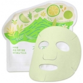 Маска для лица осветляющая Ciracle From Jeju Citrus Sudachi Whitening Mask