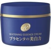 Антивозрастной осветляющий крем-эссенция с экстрактом плаценты Meishoku Placenta Whitening Essence Cream