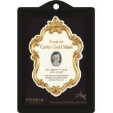 Тканевая лифтинг-маска с икрой, пептидами и скваленом Frudia Royal de Caviar Gold Mask