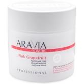 Увлажняющий лифтинговый крем для тела Aravia Organic Pink Grapefruit