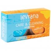 Скраб и органическое масло для губ 2-в-1 Levrana
