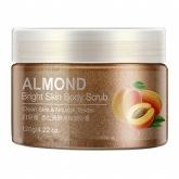 Скраб с абрикосом и миндалем Bioaqua Almond Bright Skin Body Scrub