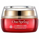 Увлажняющий крем с экстрактом граната One Spring Red Pomegranate Fresh Moisturizing Cream