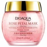 Ночная смягчающая маска с лепестками роз Bioaqua Rose Petal Mask