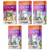Цветные контактные линзы Illusion Colors Elegance