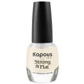 Укрепляющее базовое покрытие Kapous Nails Strong And Flat Base Coat