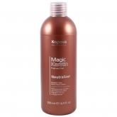 Нейтрализатор для долговременной завивки волос с кератином Kapous Fragrance Free Magic Keratin Neutralizer