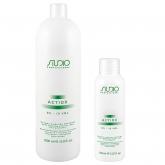 Окислительная эмульсия с экстрактом женьшеня и рисовыми протеинами Kapous Studio Professional Actiox Emulsion 3%