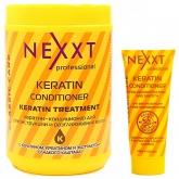 Кондиционер для реконструкции и выпрямления волос Nexxt Keratin Conditioner