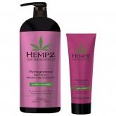 Кондиционер растительный увлажняющий и разглаживающий Hempz Daily Herbal Moisturizing Pomegranate Conditioner