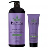 Кондиционер растительный увлажняющий и укрепляющий Hempz Vanilla Plum Herbal Moisturizing And Strengthening Conditioner