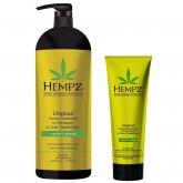 Кондиционер растительный для окрашенных волос Hempz Original Herbal Conditioner For Damaged And Color Treated Hair