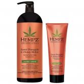 Кондиционер растительный для придания объёма Hempz Sweet Pineapple And Honey Melon Volumizing Conditioner