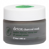 Маска для лица с бамбуковым углем Skinfood New Zeland Detox Charcoal Mask