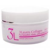 Увлажняющий крем 3 слоя коллагена Japan Gals 3 Layers Collagen Cream