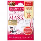 Маска с натуральными керамидами Japan Gals Pure 5 Essence Mask