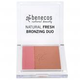 Бронзер из палетки Benecos Natural Fresh Bronzing Duo
