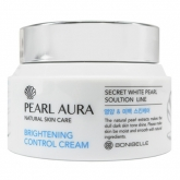 Крем для лица с экстрактом жемчуга Enough Bonibelle Pearl Aura Brightening Control Cream