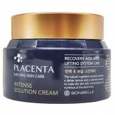 Омолаживающий крем с плацентой Enough Bonibelle Placenta Intense Solution Cream