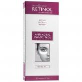 Гелевые патчи с ретинолом и витамином Е для кожи вокруг глаз против припухлостей Retinol Anti-Aging Eye Gel Pads