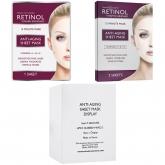 Увлажняющая антивозрастная тканевая маска с ретинолом и коллагеном Retinol Anti-Aging Sheet Mask
