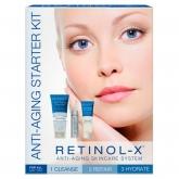 Набор интенсивных антивозрастных средств тройного действия Retinol Anti-Aging Starter Kit