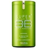 ББ крем с шелковым финишем Skin79 Super Plus Beblesh Balm Triple Functions (Green) SPF30 PA