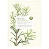 Маска для лица с экстрактом чайного дерева тканевая The Saem Natural Tea Tree Mask Sheet
