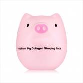 Ночная маска для лица коллагеновая Tony Moly Pure Farm Pig Collagen Sleeping Pack