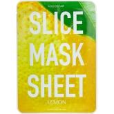 Лимонные маски-слайсы Kocostar Slice Mask Sheet Lemon