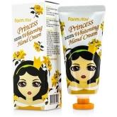 Осветляющий крем для рук FarmStay Princess Whitening Hand Cream