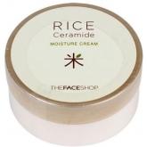 Увлажняющий крем с керамидами The Face Shop Rice & Ceramide Moisturizing Cream