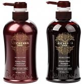 Набор из 2 - х предметов (уход + шампунь) Richenna Gold Henna Clinic