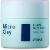 Маска для сухой кожи лица Vprove Micro Clay Black Mud Pack Purifyng