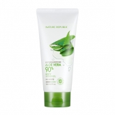 Гель для душа с алоэ вера Nature Republic Soothing & Moisture Aloe Vera 90% Body Shower Gel
