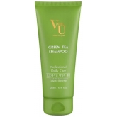 Увлажняющий шампунь с зелёным чаем Von U Green Tea Shampoo