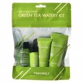 Набор средств с зелёным чаем Tony Moly The Chok Chok Green Tea Watery Kit