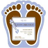 Маска-носочки для ног с муцином и маслами Mijin Cosmetics Premium Foot Сare Pack