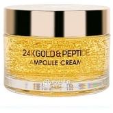 Крем с золотом и пептидами Eyenlip 24K Gold and Peptide Ampoule Cream