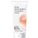Пенка для умывания с жемчужной пудрой May Island Pearl Micro-Bubble Cleansing Foam