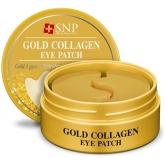 Гидрогелевые патчи под глаза SNP Gold Collagen Eye Patch